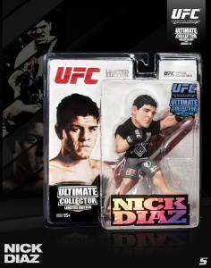 "Nick ""The Stockton Bad Boy"" Diaz Ultimate Collector Series 13 Limited Edition"