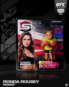 """Rowdy"" Ronda Rousey Ultimate Collector Series 14 Limited Edition"