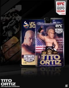 "Tito ""The Huntington Beach Bad Boy Ortiz Ultimate Collector Series UFC Fan Expo 2013 Las Vegas American Flag Edition"