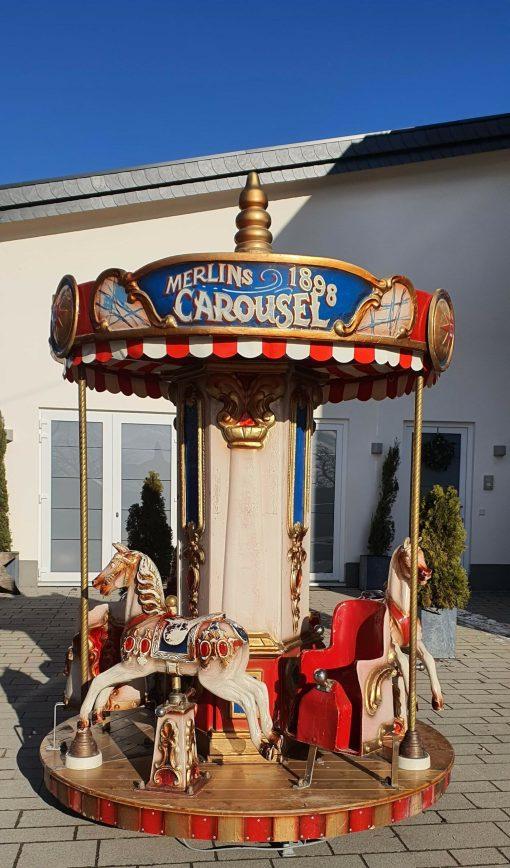 Nostalgie Kinderkarussell mieten Wiesbaden und Fankfurt