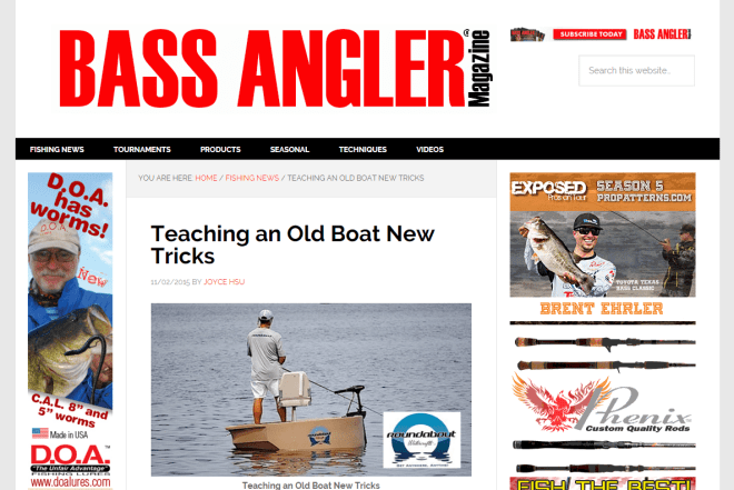 Teaching An Old Boat New Tricks Bass Angler Magazine