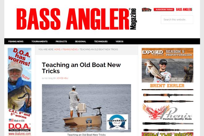 Teaching An Old Boat New Tricks Bass Angler Magazine