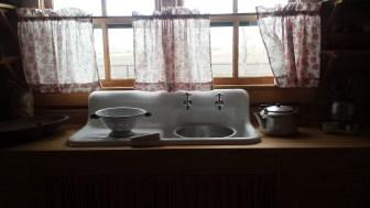 Kitchen at Johnny CAsh Boyhood home, Dyess, AR