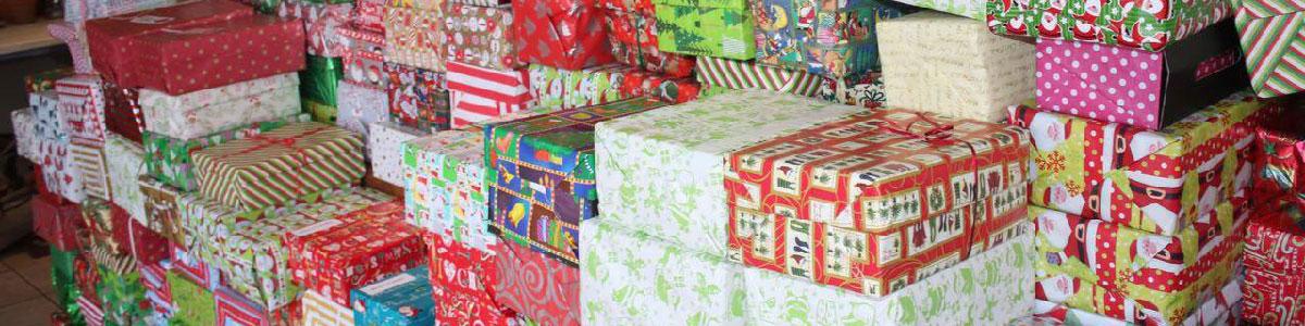 Christmas Shoe box Project