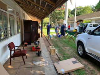 Durban 2 clubhouse renovations