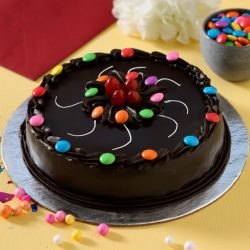 Chocolate truffle with Gems Cake in Rourkela