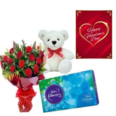 Gorgeous Valentines Day Gifts Delivery in Rourkela