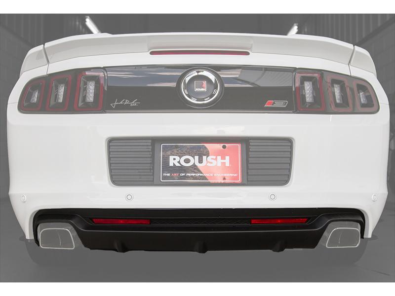 2013 2014 ford mustang roush rear valance kit