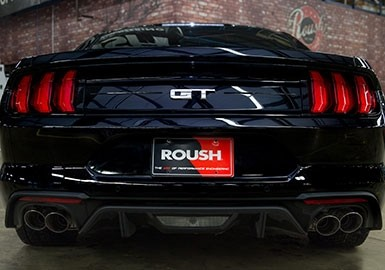 mustang exhaust roush performance