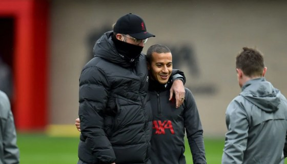 Training for Liverpool