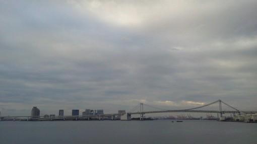 翌日朝の散歩中写真。 この日から数日間東京に滞在しておりました。 自転車乗ってる写真がないので、替わりにこれで(笑)