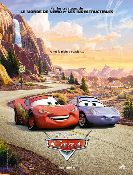 """""""Cars"""" has three of the nine most popular Pixar songs on Spotify, including No. 1"""