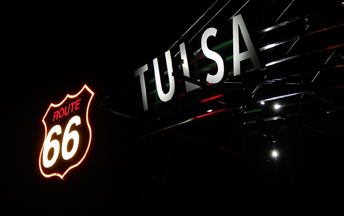 Tulsa leaders take Route 66 tour to spark ideas