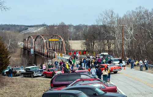 Gasconade River Bridge rally 1