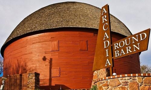 Mr. Sam and the Arcadia Round Barn