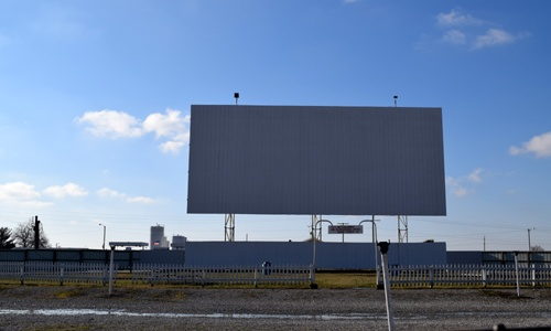 Sky View Drive-In screen