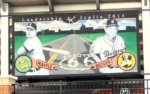 New mural installed at Joe Becker Stadium
