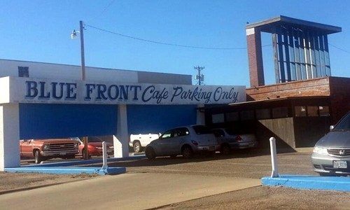 Amarillo's Blue Front Cafe goes up for sale