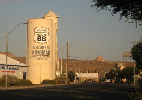 Kingman water tanks
