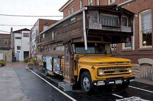A look inside Bob Waldmire's bus