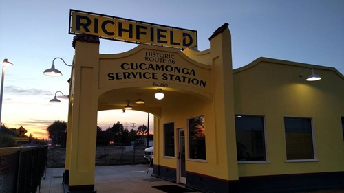 Cucamonga Service Station wins state preservation award