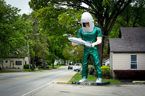 Gemini Giant in Wilmington