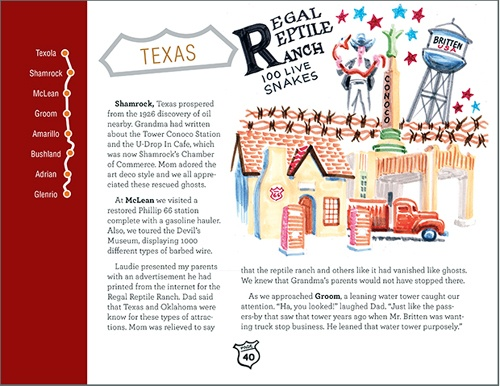 Route 66 Ghosts excerpt