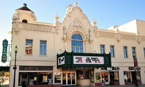 Coleman Theatre vandalized