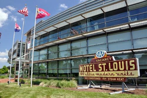Motel St. Louis sign, Missouri History Museum