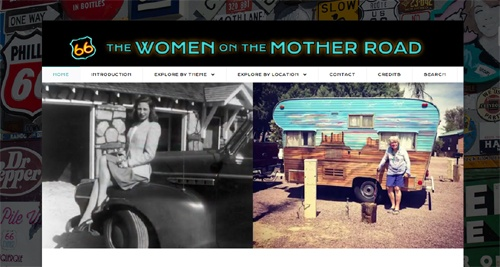 Women on the Mother Road website launched