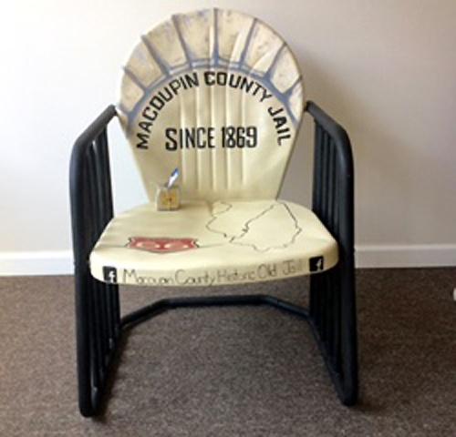 Macoupin County Jail chair