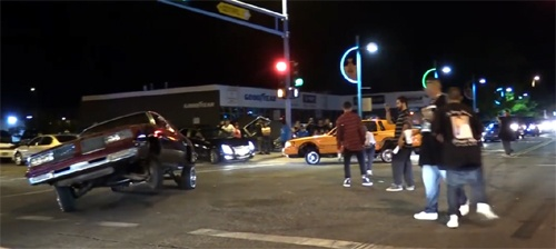 Lowriders, twerkers shut down Route 66 in Albuquerque