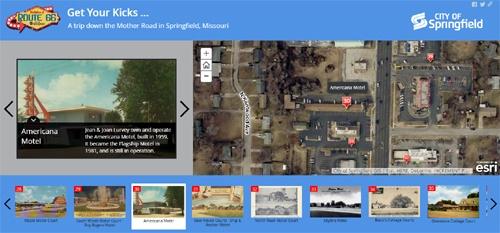 "Springfield, Missouri, releases ""story maps"" website"