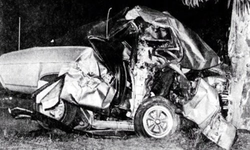 A tragedy on Route 66 in 1968
