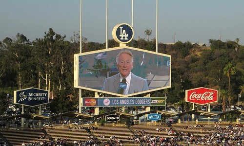 Vin Scully calls it a career