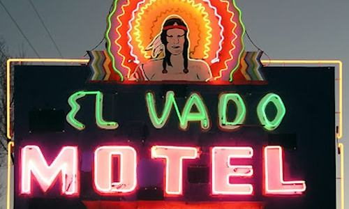 Albuquerque relights El Vado Motel sign to mark redevelopment project