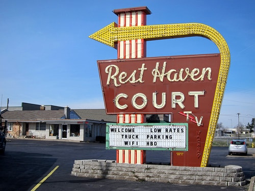 Rest Haven Court on Kearney Street, Springfield, Mo.