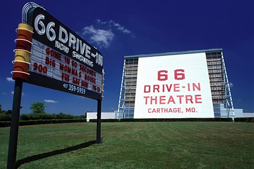 66 Drive-In Theatre in Carthage, Sky View Drive-In in Litchfield will open Friday