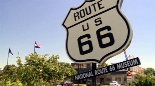A trip down Oklahoma's Route 66, circa 2009