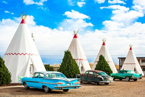 Risultati immagini per Wigwam Motel (Arizona)