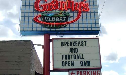 Contents of Granny's Closet restaurant in Flagstaff to be auctioned