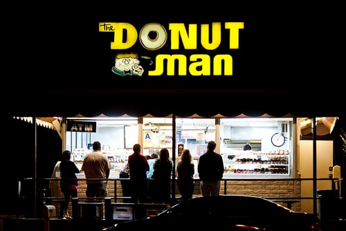 Donut Man shop