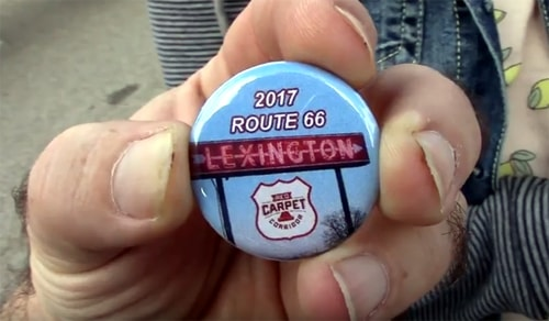 Video reports from the Illinois Route 66 Red Carpet Corridor Festival