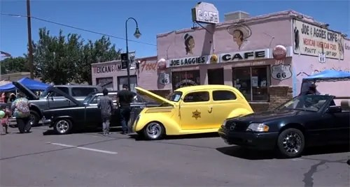 Scenes from the Holbrook Route 66 Festival