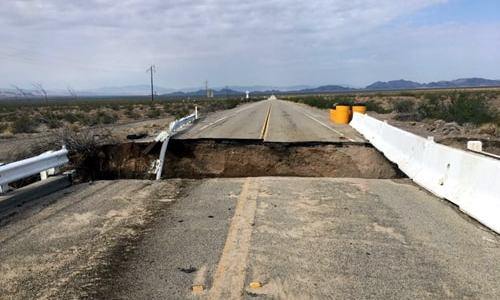 More bridges washed out between Essex and Amboy