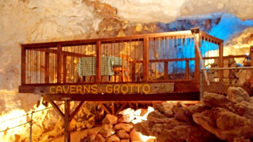 Grand Canyon Caverns soon will open Grotto underground dining area