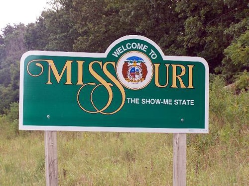 Missouri travel advisory
