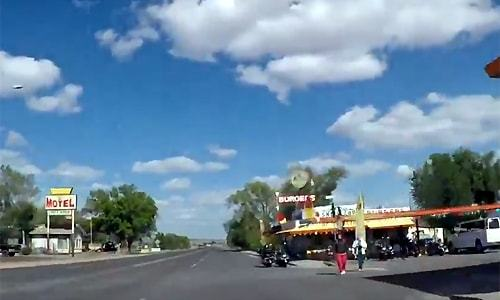 Time-lapse videos cruise Arizona's Route 66