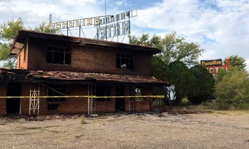 Fire damages Paradise Motel in Tucumcari