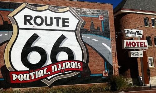 Is Route 66 immune from the international travel slump?
